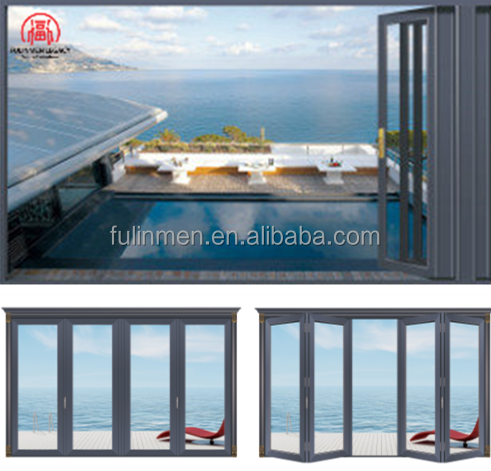 2017 New Design Mutifunctional Folding and Sliding Door made in China