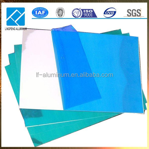 2015 Aluminum Sheet 6061 T6 ,Aluminum Sheet 6061 T3 with Blue Protective Film or Paper