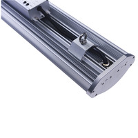 led linear light haning frost and clear 1200mm 60w ip65 proof light fixture