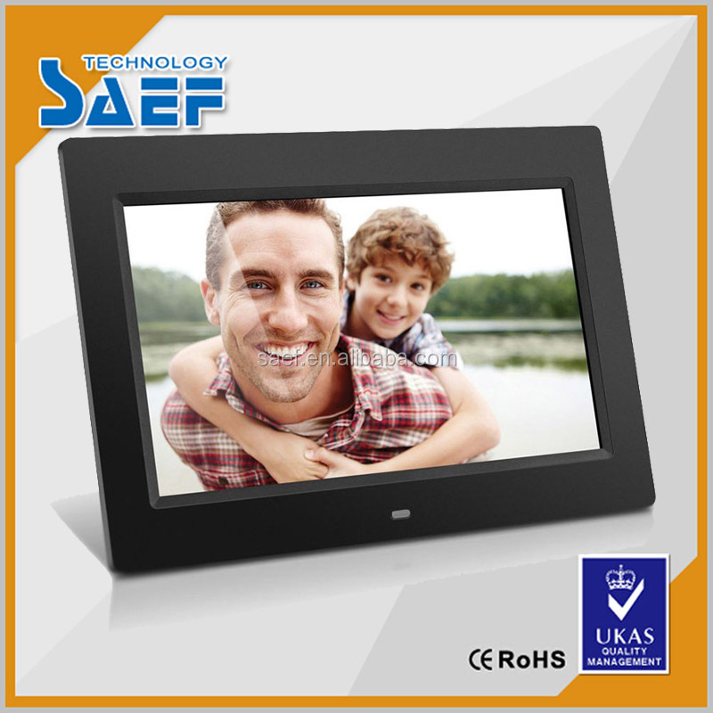 "photo frame digital 10"" inch 1024x600 lcd screen for supermarket advertising display"