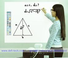 Low price DEFI Interactive white board software,for education,children magnetic board