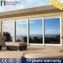Foshan factory decorative grill design telescopic sliding door system for home