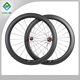 Chinese bicycle wheel for carbon fiber road bikes for sale depth 60mm wide 23mm clincher road bicycle wheel conbon fiber