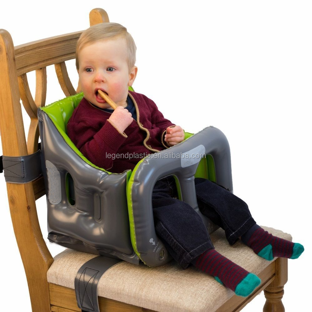 PVC Baby Feeding High Chair Inflatable Portable Booster Seat