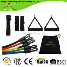 Exercise Variable Resistance Band 5 level Latex Tubes Set