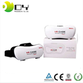 New VR Case 3D Glasses V5 vr glasses for mobiles Virtual Reality fit up to IOS/Android with Bluetooth gamepad OEM can Adjust