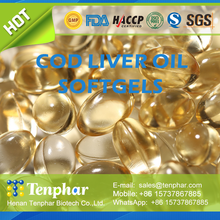 OEM 1000mg 500mg Cod Fish Liver Oil Capsules Chewable Tablet