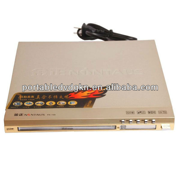 Add USB Port DVD Player With VGA Port Playe Mutil Language