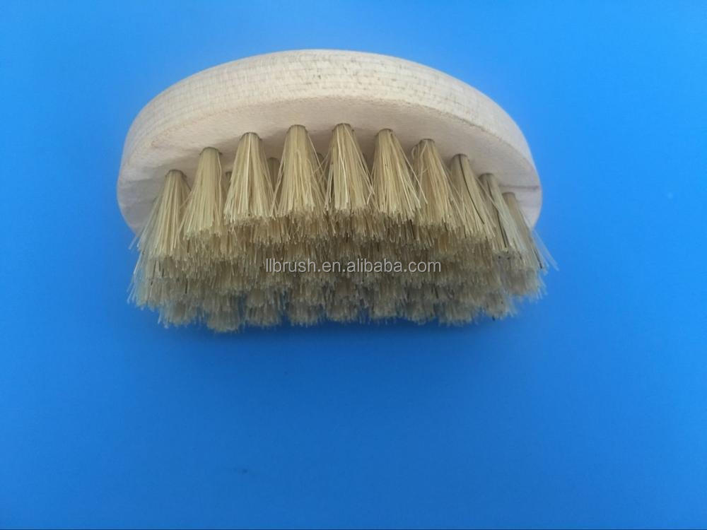 2017 hot selling mini wood handle pig bristle shoe brush/leathe shoe brush cleaner