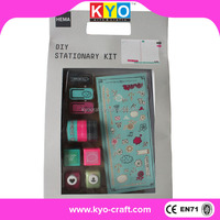 Beautiful colorful craft diy scrapbooking kits