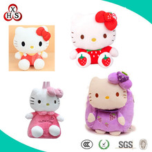 2014 wholesale cute lovely hello kitty plush stuffed toys