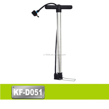 Good quality Aluminum Alloy price of bicycle foot/floor pump 30*580mm