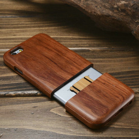 2016 Wood phone case for iPhone 5 5S 6 6S bamboo cell phone cover for iPhone 6 6s