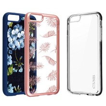 C&T OEM Design Clear Transparent Hard Cover Cell Phone for iphone5 tpu bumper case