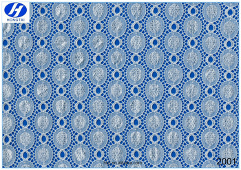 Hongtai most popular new guipure allover lace fabric
