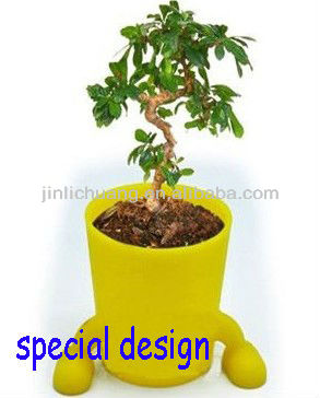 2013 hotsale silicone decorating tiny flower pot