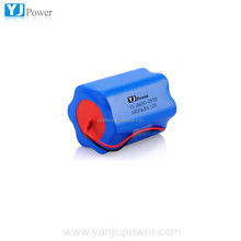 Rechargeable 4400mAh 18650 12V lithium ion battery pack 2p3s, for miner light