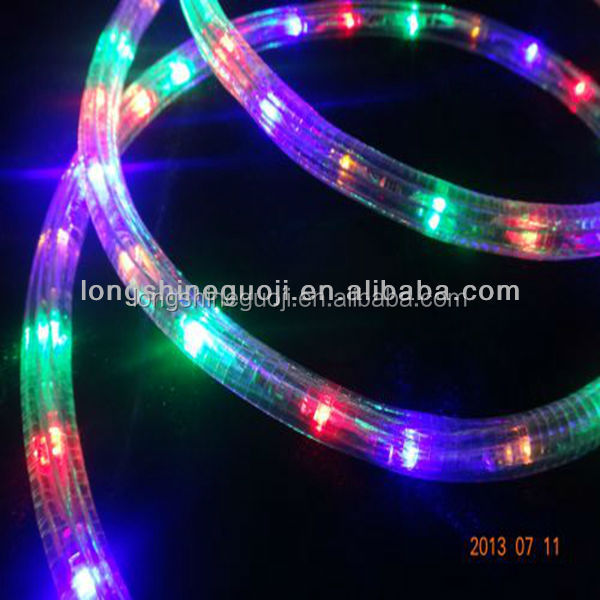 wire led rgb rope light christmas decoration light buy rope light. Black Bedroom Furniture Sets. Home Design Ideas