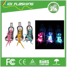 2017 newest Nylon LED ShoeLaces,Party Led Flashing Shoelace for Cheerful Lighting