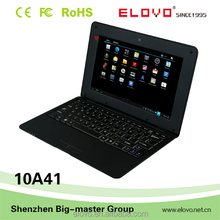 touch screen 10inch laptop ram 2gb Android5.0 S500 quad core hdd 16gb one-year warranty OEM factory cheap quality laptop