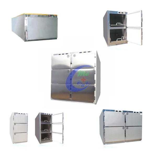 factory dog clinic refrigerator casket