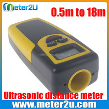 laser cutting machine 0.5m to 18m Ultrasonic distance meter with 1 meter tape measure