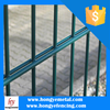 2015 Hot Sale PVC Coated Welded Double Weft Loop Wire Mesh Fence Panel