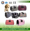 Hot Sale Foldable PU Pet Travel Bags / Wholesale Foldable Waterproof Pet Carry Bags