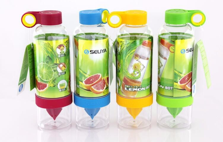 800ML Infuser Water Bottle Lemon Bottle Juice Making Water Bottle