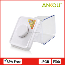 Press type wholesale plastic storage food container