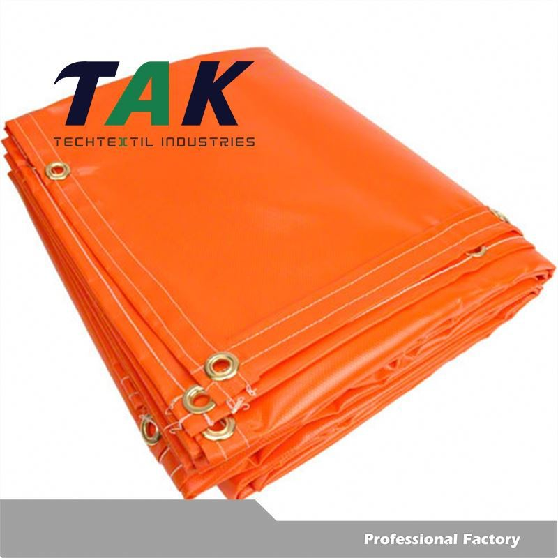 Non Slip Pvc Coated Tarp/Durable Pvc Tarpaulin/Environmental Plastic Canvas Tarpaulin For Fish Pond Truck Cover