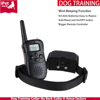 Dog Training Collar with Remote 100 Level Electric Shock and Vibration Original Factory and Private Label Accept