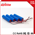 Apollo wholesale top brand cell rechargeable li ion battery 18650 3.7v 2200mah
