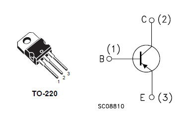 TIP32C STMicroelectronics TO-220 DIP Silicon PNP Power Transistor