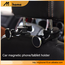 Car Headrest Mount Holder Car Backseat Headrest Magnetic car Mount Holder for Smart Phones Tablets GPS Devices