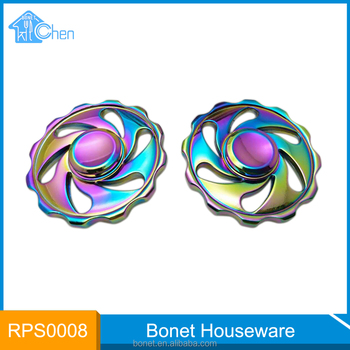 RPS0008 New item metal spinning top toy