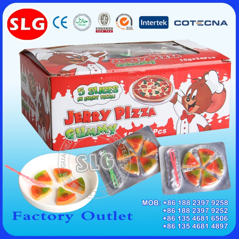 Halal JERRY Pizza jelly candy Gummy candy