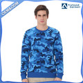 Custom Made Men Pullover Sweatshirts All Over Printing Camo Sweatshirt
