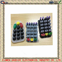 custom 12 keys rubber button numeric keypad silicone rubber lock keypad