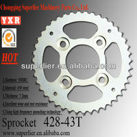 motorcycle parts good quality transmission bike sprockets for sale