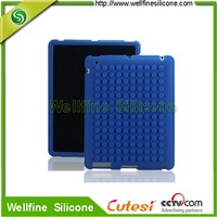 Protective shell of silicone skin case for notebook/softness silicone tablet case