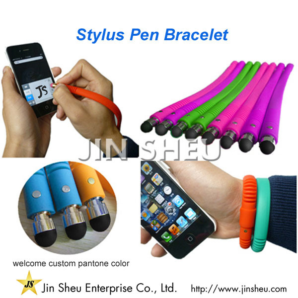 Promotional Cheap Mobile Phone Screen Touched Silicone Stylus Pen