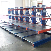Industrial cantilever racking system for steel pipe
