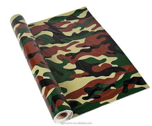 "100 ft x 40"" Plastic Camo Tablecloth Roll - Camouflage Table Cover"