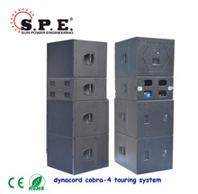 SPE AUDIO Cobra 4 System Dynacord Sound System Whole Set Line Array Pa System For Sell