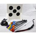 Safe archery set tag bow and Screw-in foam tip arrow with head