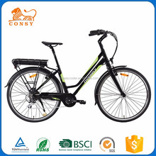 2017 The Best Price CONSY 250W Brushless Rear Motor E Electric Bicycle Bike