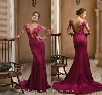 elegant high neck satin fabric flower full length evening gown