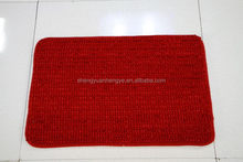 Low price stylish chenille carpet of fair
