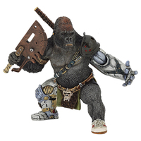 American movie Mechanical gorilla warrior figure statue